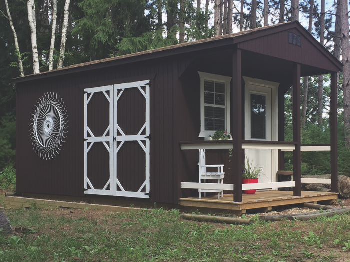 Cabin Style Portable Building