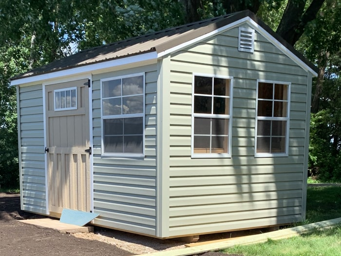 Custom Garden Shed Side View