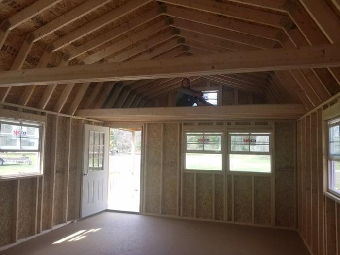 Lofted Cabin Interior