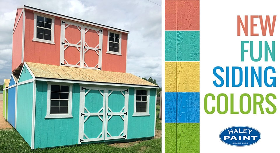 New Siding Colors